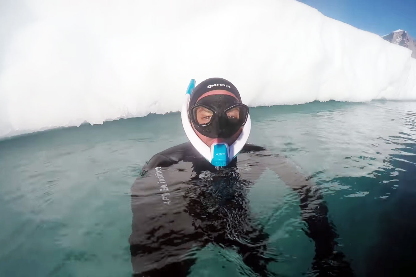 POWERBREATHER Ice Diving in Greenland