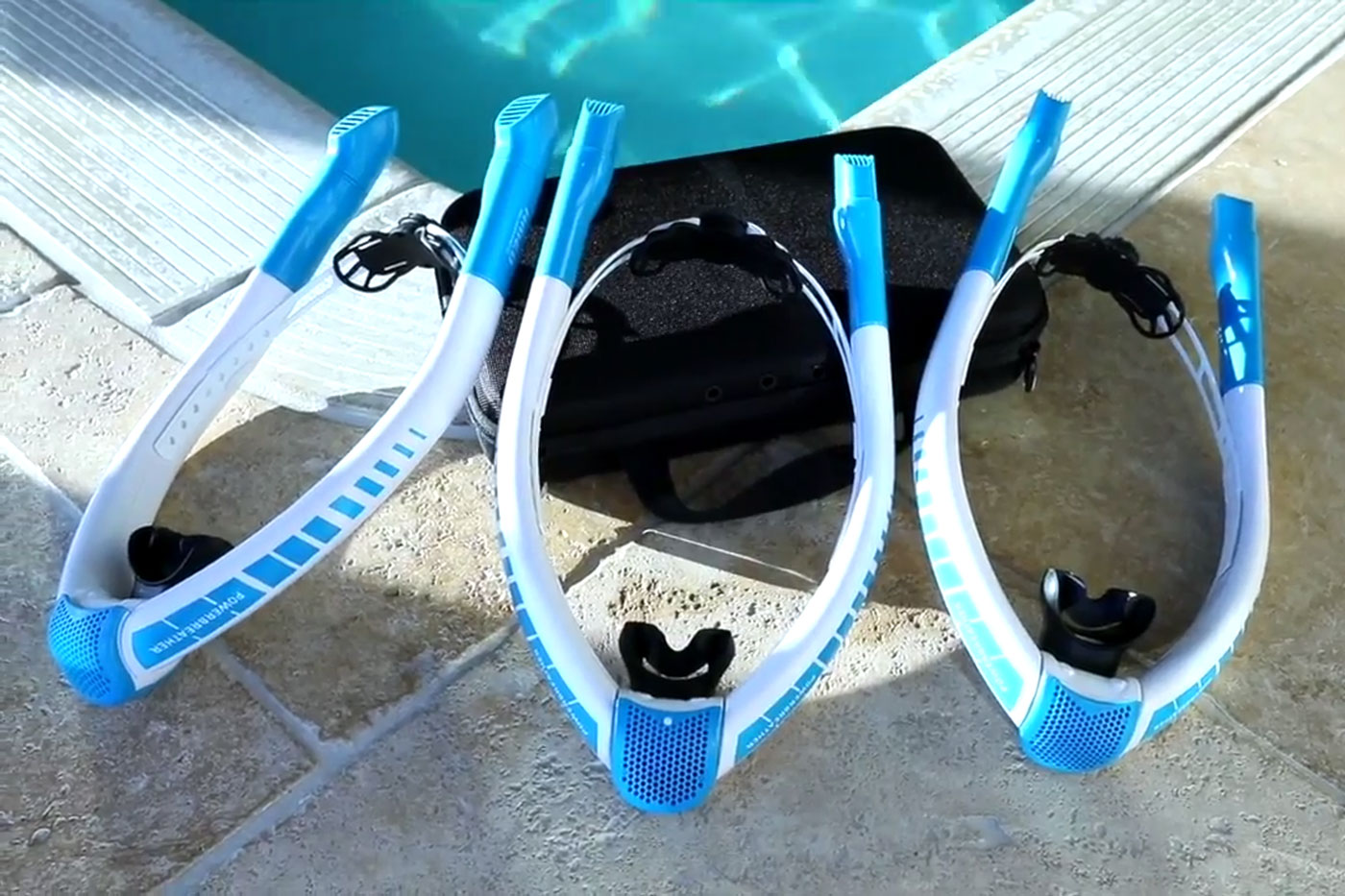 The POWERBREATHER – A revolutionary snorkel for pools and open water